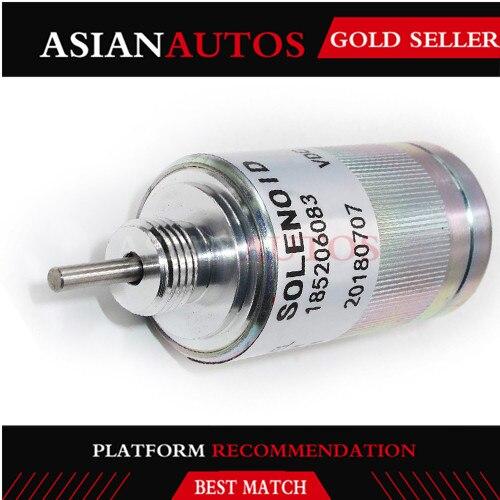 185206085 Fuel Shut Off Solenoid Stop Solenoid For Case Holland For Perkins 100 Series SBA185206084 VF185206082 SBA185206083 SBA
