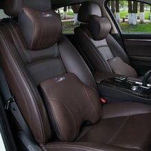 Per BMW poggiatesta In Vera Pelle cuscino vita cuscino del collo cuscino E90 E70 E71 E60 E84 E89 F10 F15 F16 F30 decorazione di interni