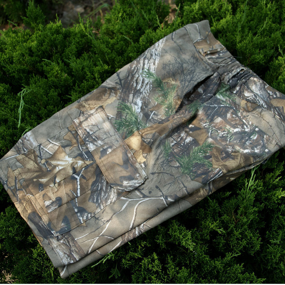 Summer Mens Loose Camouflage Cotton Breathable Shorts + T-shirt Outdoor Climbing Hunting Fishing Riding Cargo Short Trouser Tops