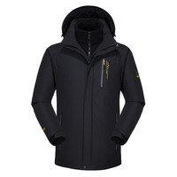 10XL 9XL 8XL зимняя куртка мужская женская куртка с капюшоном утолщенной держать теплая куртка ветрозащитная Водонепроницаемый куртка 2 в 1 курт...