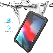 For iPad Pro 11 2018 Waterproof Case Underwater Dust Shockproof 360 Full Protective Film Clear Cover inch