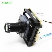 HD 1920P 5MP IP Cam DIY CCTV IP camera module PCB board with IRCUT ONVIF APP XMEYE with 3MP 25mm Lens