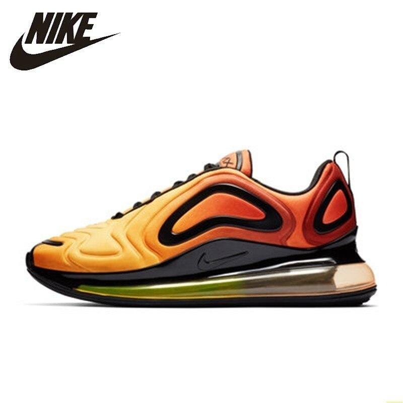 Nike Air Max 720 zapatos originales para correr de hombre cómodos almohadones de aire nueva llegada transpirable deportes al aire libre zapatillas # AO2924-800