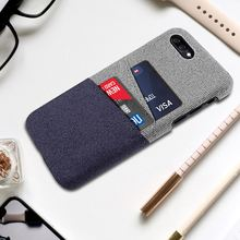 For Asus ZenFone 4 Max ZC554KL ZC520KL Case Slim Fabric Cloth 2 Cards Slots Hard PC Cover For Asus ZenFone 4 Selfie ZD553KL Case смартфон asus zenfone 4 selfie zd553kl black 90ax00l1 m01490