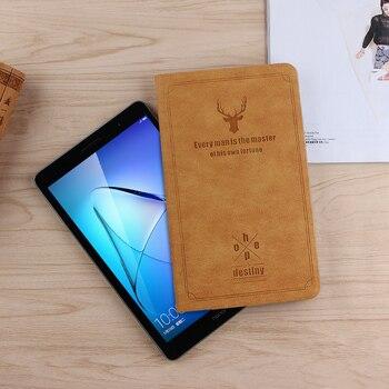 Huawei 社 MediaPad T3 8.0 ケース保護 Pu レザースタンドカバーのための再生パッド 2 KOB-L09 KOB-W09 8