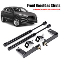 1Set Car Front Engine Hood Lift Supports Props Rod Arm Gas Springs Shocks Strut Bars For Hyundai Tucson 3TH 2015 2016 2017 2018
