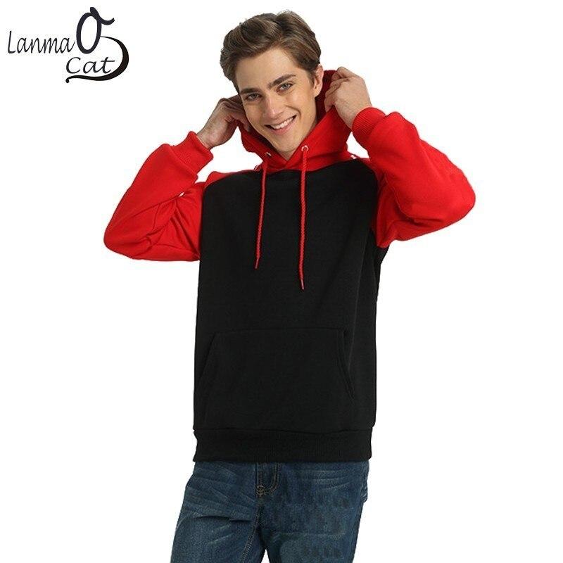Lanmaocat Couples Hoodies pulls décontractés automne hiver Streetwear hommes Hip Hop Sweatshirts XXL à capuche Homme livraison gratuite