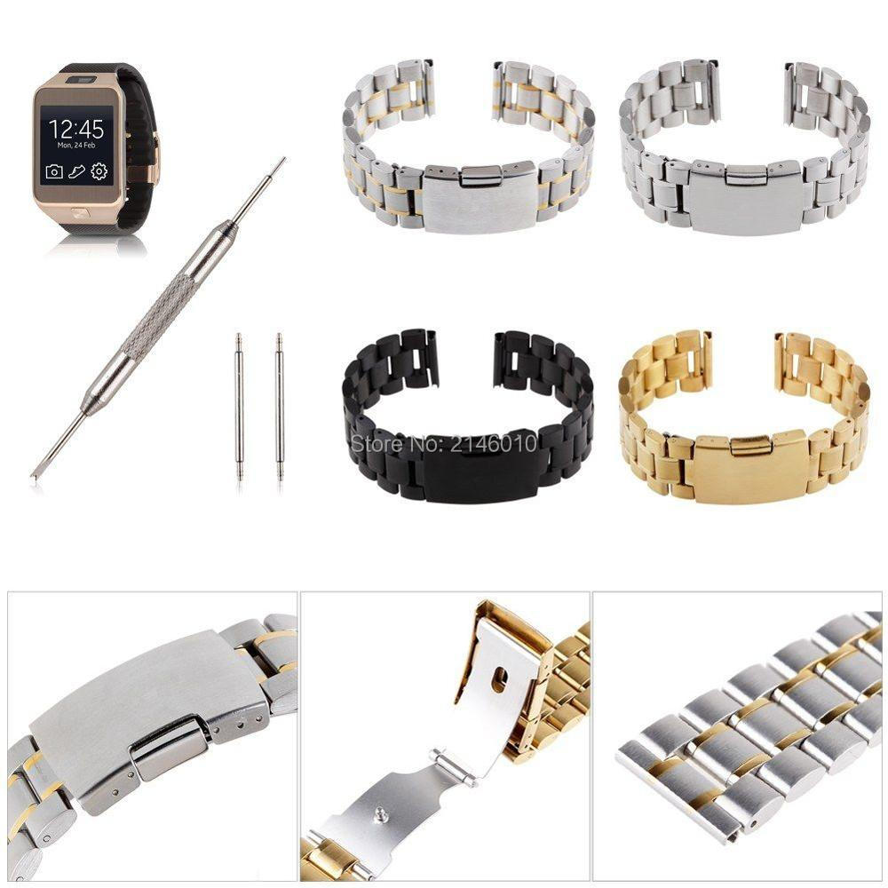 20MM Stainless Steel Watch Band for Samsung Gear 2 NEO Live & LG G R W100 W110