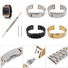 20MM Stainless Steel Watch Band for Samsung Gear 2 NEO Live & LG G R W100 W110 22mm milanese loop band stainless steel bracelet magnetic strap for pebble time asus zenwatch 1 2 men lg g watch w100 w110 w150