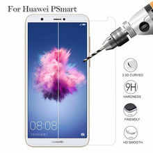 9H 2.5D Safety Protective Tempered Glass For Huawei PSmart Screen Prote