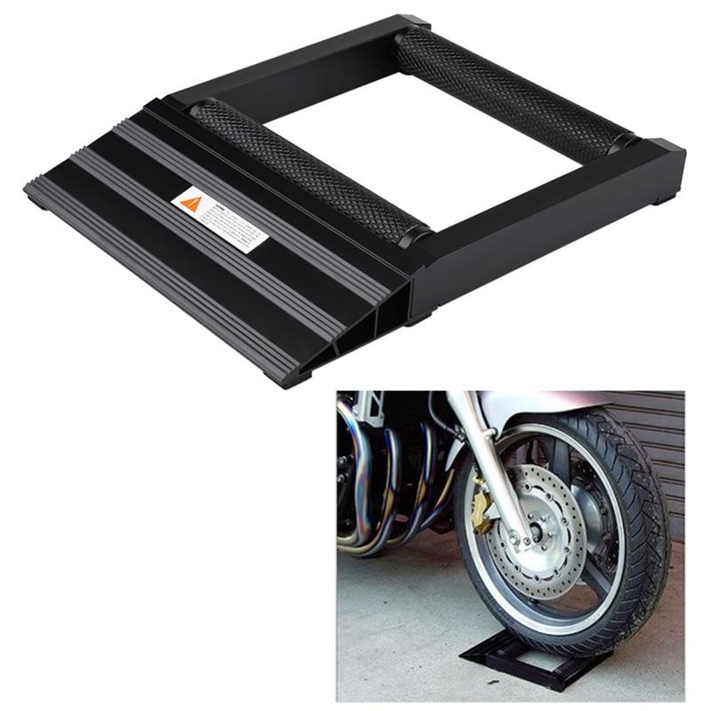 Moto pneu chaîne nettoyage lubrifiant Vertical tambour pente support de levage nettoyage pneu support Jack