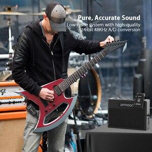 Image 5 - ammoon 2.4G Wireless Guitar Transmitter Audio 6 Channels Guitar Wireless Transmitter Receiver for Electric Guitar Bass