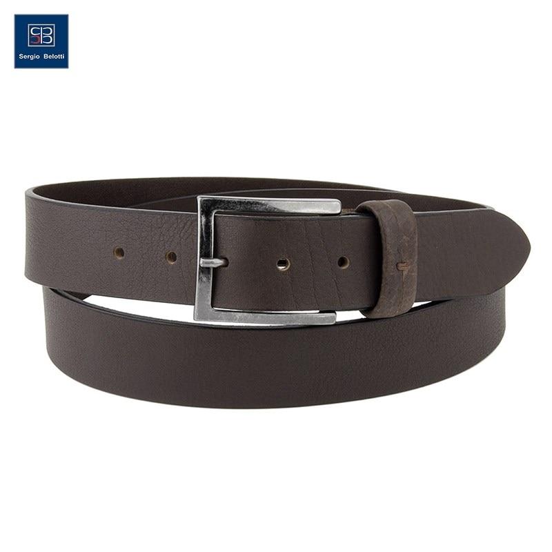 Belt Jean Sergio Belotti 401744/40 Cordoba Coffe