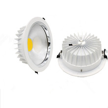 10pcs/lot 6 inch 30w COB led downlight Recessed LED Ceiling Lamp White/warm lamp DHL Free shipping