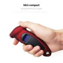 ЖК-дисплей цифровой манометр для шин автомобильный Грузовик велосипедный Манометр с подсветкой и нескользящей ручкой