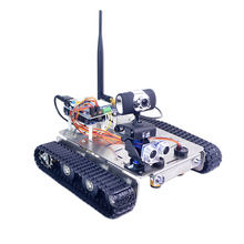 Xiao R DIY GFS WiFi Wireless Video Control Smart Robot Tank Car Kit with Camera for Arduino UNO Outdoor Toys for Kids Gifts(China)