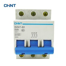 CHINT Mini Circuit Breaker DZ47-60 3P D20  A Safe And Effective Voltage Protection Device House Air Switches