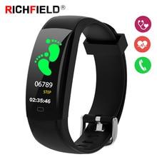 купить Smart Bracelet IP68 Waterproof Heart Rate Sleep Monitor Sport Smart Watch Fitness Bracelet Activity Tracker Wristband Smart Band по цене 1187.31 рублей