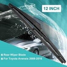 305 мм 12 Автомобильная задняя новая чистящее лезвие ветрового стекла для Toyota Avensis RAV4 YARIS 2008