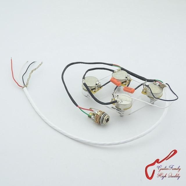 Astonishing 1 Set Guitarfamily Electric Guitar Pickup Wiring Harness For Lp Sg Wiring Database Hyediarchgelartorg