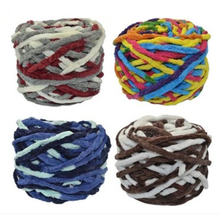 100 g / pc Cotton Colorful Dye Scarf Slippers Hand-knitted Yarn For Hand knitting Soft Milk Thick Wool