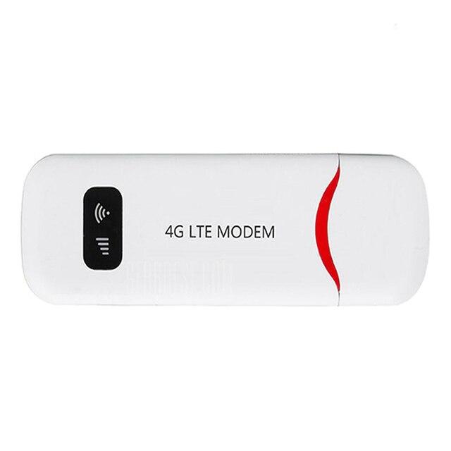 4G Портативный Hotspot Мини Wifi роутер Usb модем 100 Мбит/с Lte Fdd со слотом для sim-карты