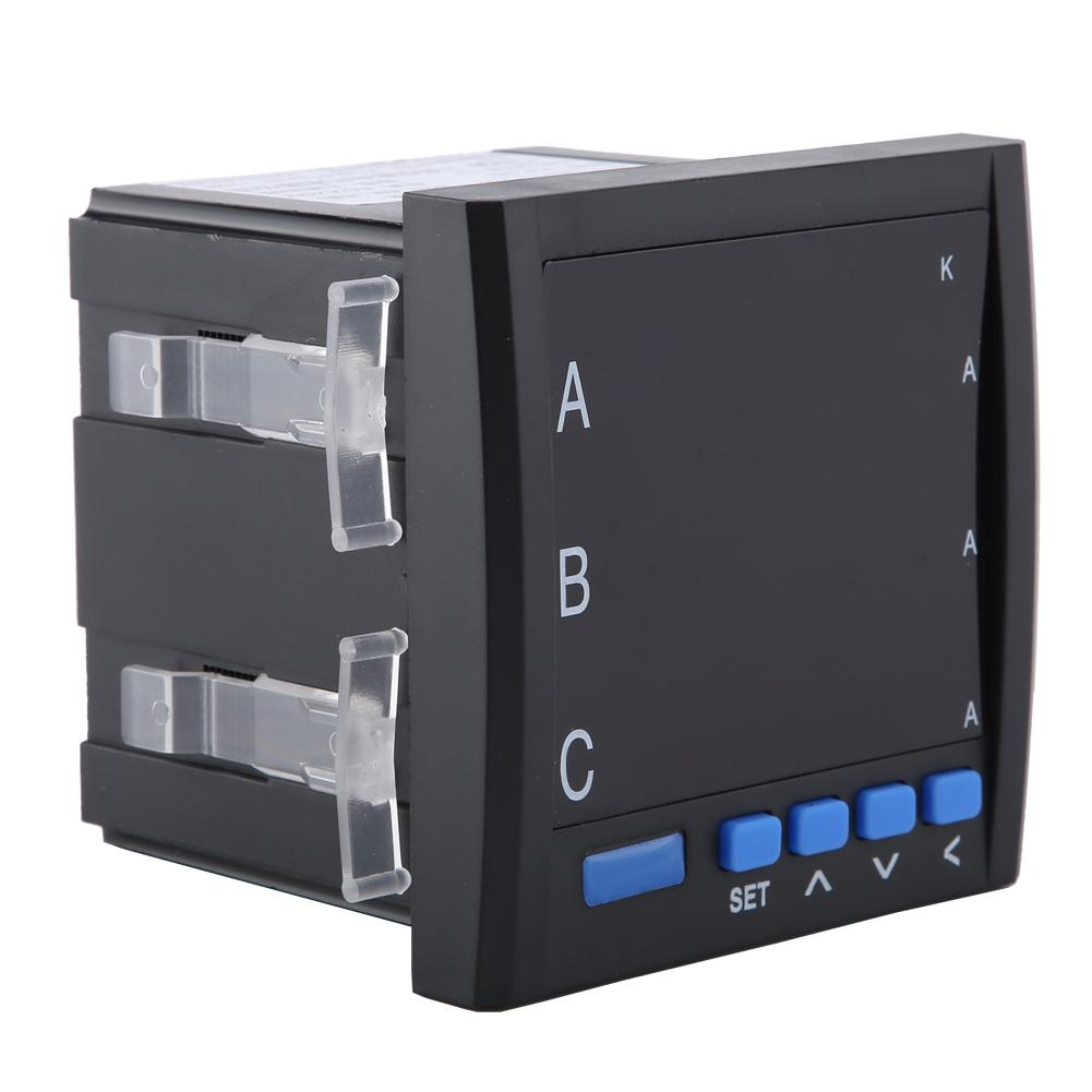 Digital Intelligent Display Three Phase Programmable AC Ammeter High Quality 3-Phase AC Ammeter