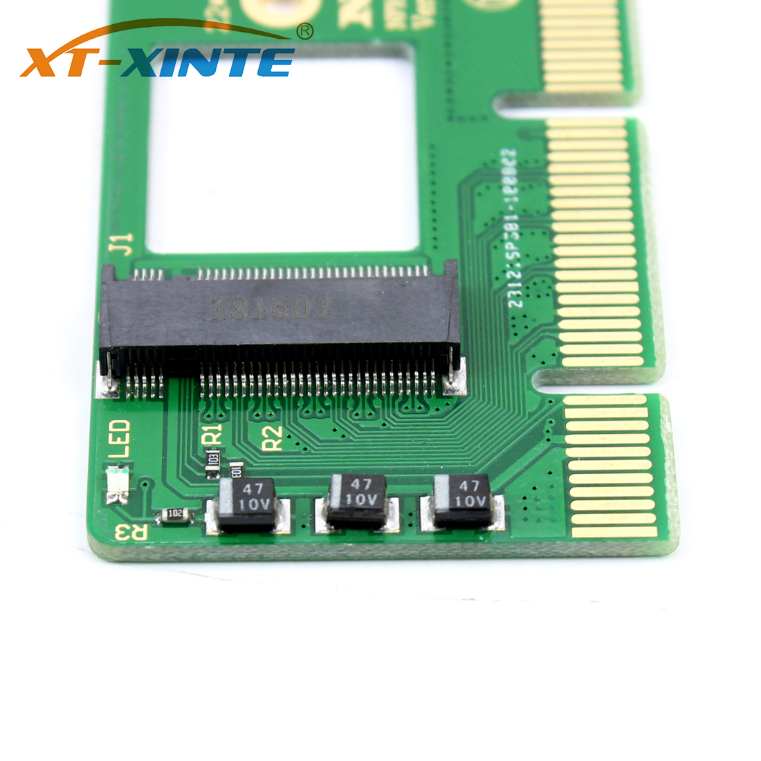 NGFF M key M 2 NVME AHCI SSD to PCI E PCI Express 3 0 16x x4 Adapter Riser Card Converter for XP941 SM951 PM951 A110 SSD in Computer Cables Connectors from Computer Office