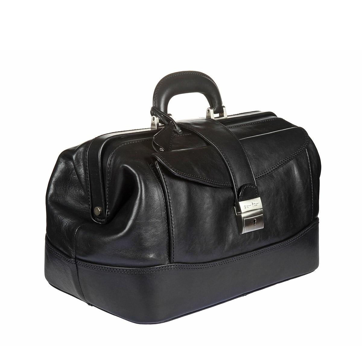 Фото - Traveling Bag Gianni Conti 9401094 black cow leather tote bag brand 2018 bolsa feminina new women handbag 100% genuine leather alligator shoulder bag free shipping