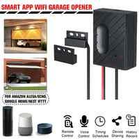 For Tuya WiFi Switch Garage Door Controller for Car Garage Door Opener APP  Remote Control Timing Voice Control Alexa Google