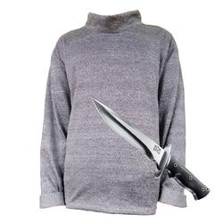 Anti-cut Slip T-Shirt Zachte Zelfverdediging Licht gewicht 2019 Niveau 5 Anti Covert Stab Beschermende Lange Mouw veiligheid Shirt
