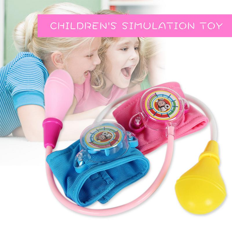 Children's Simulation Family Doctor Toy Play House Nurse Doll Blood Pressure Playset Blood Pressure Toy Doctor Kit Simulation