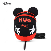 Disney Minnie Mickey Children Anti lost Bag Ribbon Baby Rope For Kids Travel Backpack Anti loss 1.2 Meters Drop Shipping