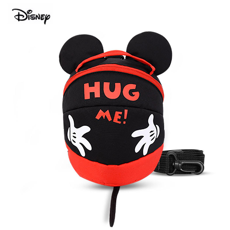Sac à dos Anti-perte 1.2 mètres Disney Minnie Mickey | Sac avec ruban pour enfants, sac à dos pour voyage, livraison directe