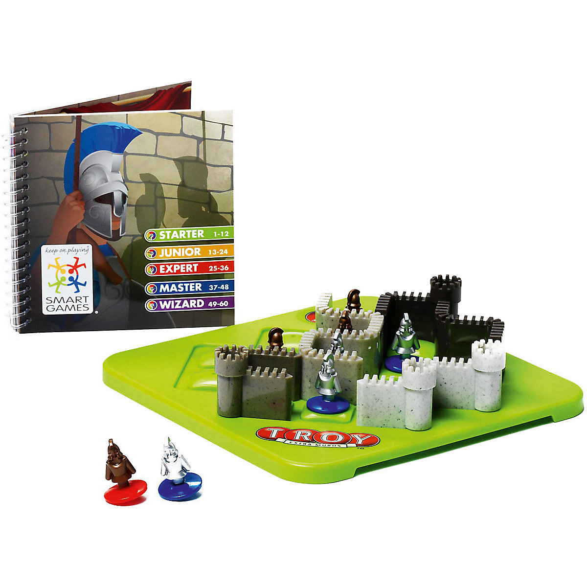 BONDIBON Party Games 7419997 educational toys puzzle game  toy puzzle toy educational toy panda shape magic cube