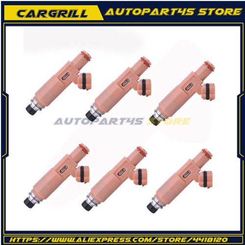 6 ピース/ロット 23209-0A020 23250-20030 燃料噴射装置 RX400H RX300 ES300 3.3 3.0 V6 トヨタ
