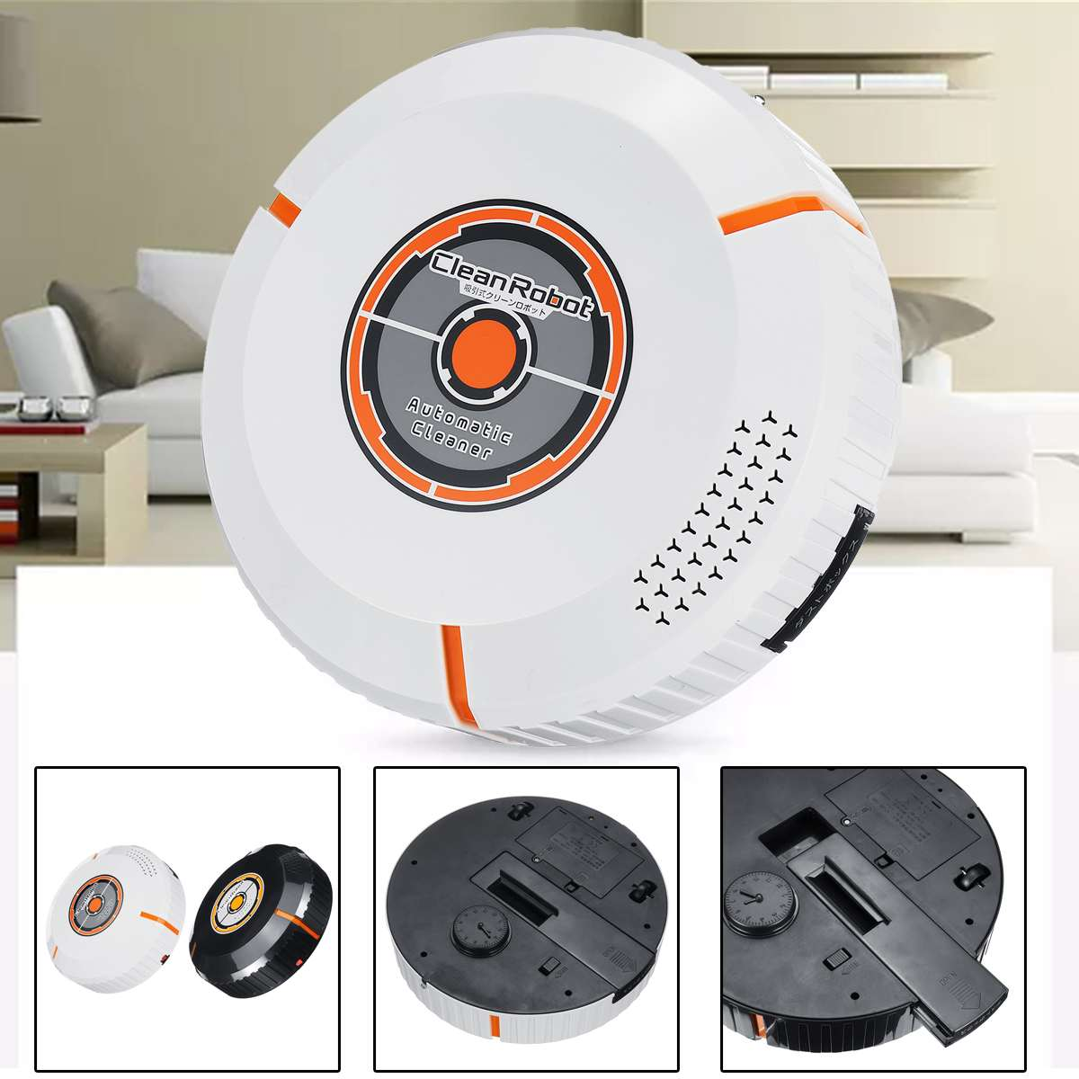 Intelligent ABS Vacuum Cleaner Robot Sweep Wet Suction Mop Automatic Recharge for Pet hair and Hard Floor Powerful SuctionIntelligent ABS Vacuum Cleaner Robot Sweep Wet Suction Mop Automatic Recharge for Pet hair and Hard Floor Powerful Suction