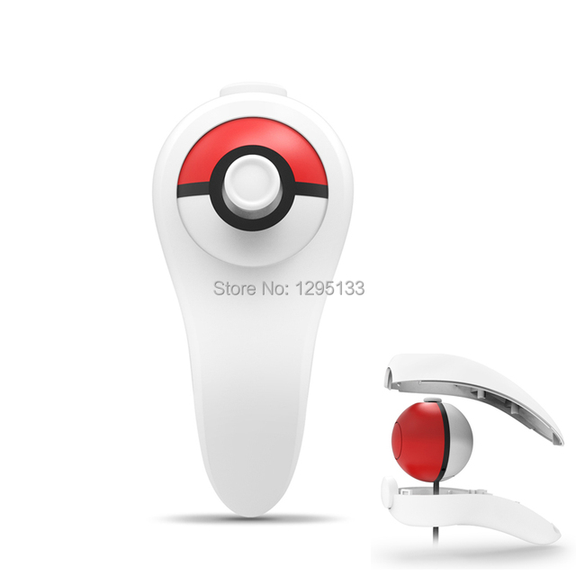 New Gaming Accessories Controller Grip Hoder For Nintend Switch NS Pika Chu Poke Mon Pokeball Plus