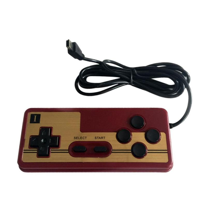 Classic Micro USB Wired Gaming Controller Gamepad for Handheld Game Console Pubg Fire Buttons for Handled Game Player