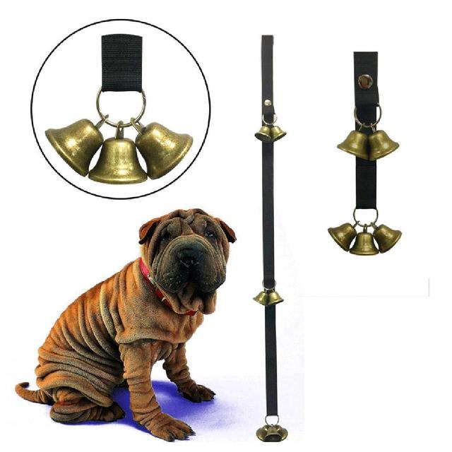 Bells Black Door Sound Pet Dog Door Bells Bell Toys Adjustable Rope Training Seven Loud Six