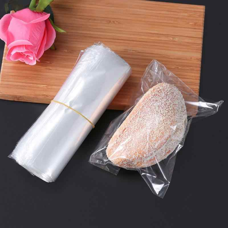 200Pcs 6X6 inch Transparent Waterproof POF Heat Shrink Wrap Bags for Soaps Bath Bombs and DIY Crafts