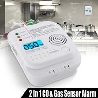 NEUE Safurance CO Kohlenmonoxid warnung Detektor LCD Digital Home Sicherheit Indepedent Sensor Sicherheit-in Kohlenmonoxid-Detektoren aus Sicherheit und Schutz bei