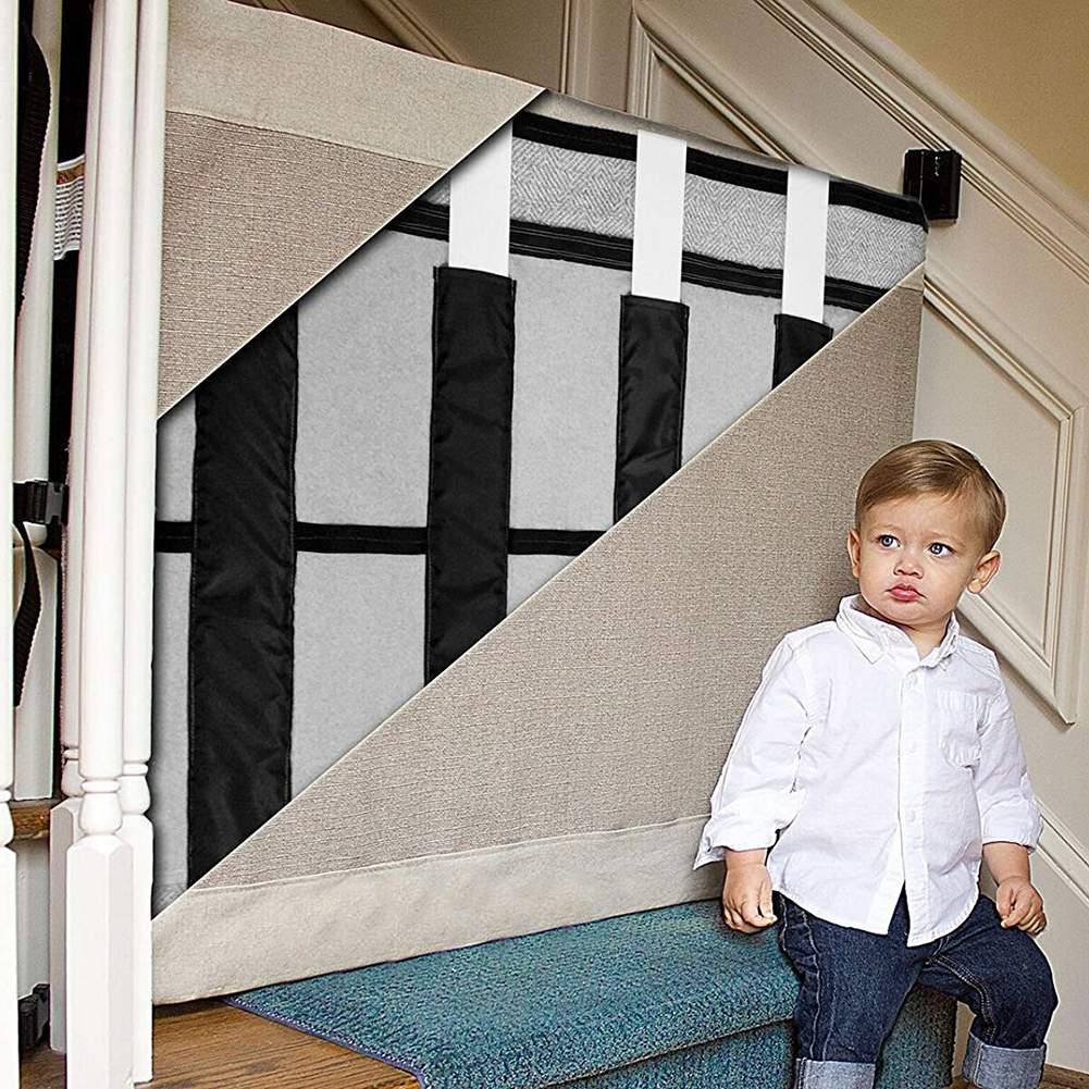 Baby and Pet Gate to in Wide and Regular Sizes for Stairs and Other Unsafe Places of Home for Babies 4