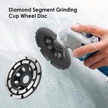Wheel-Disc Stone Grinding-Cup Tile-Grinder Diamond 125mm 180mm Segment Brick Double-Row