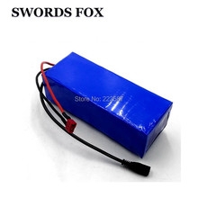 SWORD FOX 36v 10ah lithium ion cell battery 15A BMS 36v 350w electric bike lithium battery for 36v 500w wheelchair(China)