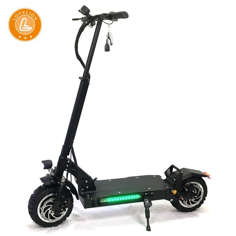 LOVELION Foldable Electric Off road Scooter for Adults Scooter City Bike 60v 3200W 11 Inches Widen Tire hoverboard scooters in Electric Scooters from Sports Entertainment