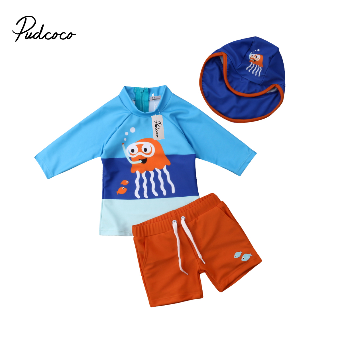 USA Toddler Kid Baby Boys Bikini Swimwear Swimsuit Bathing Surfing Suit UV 50+
