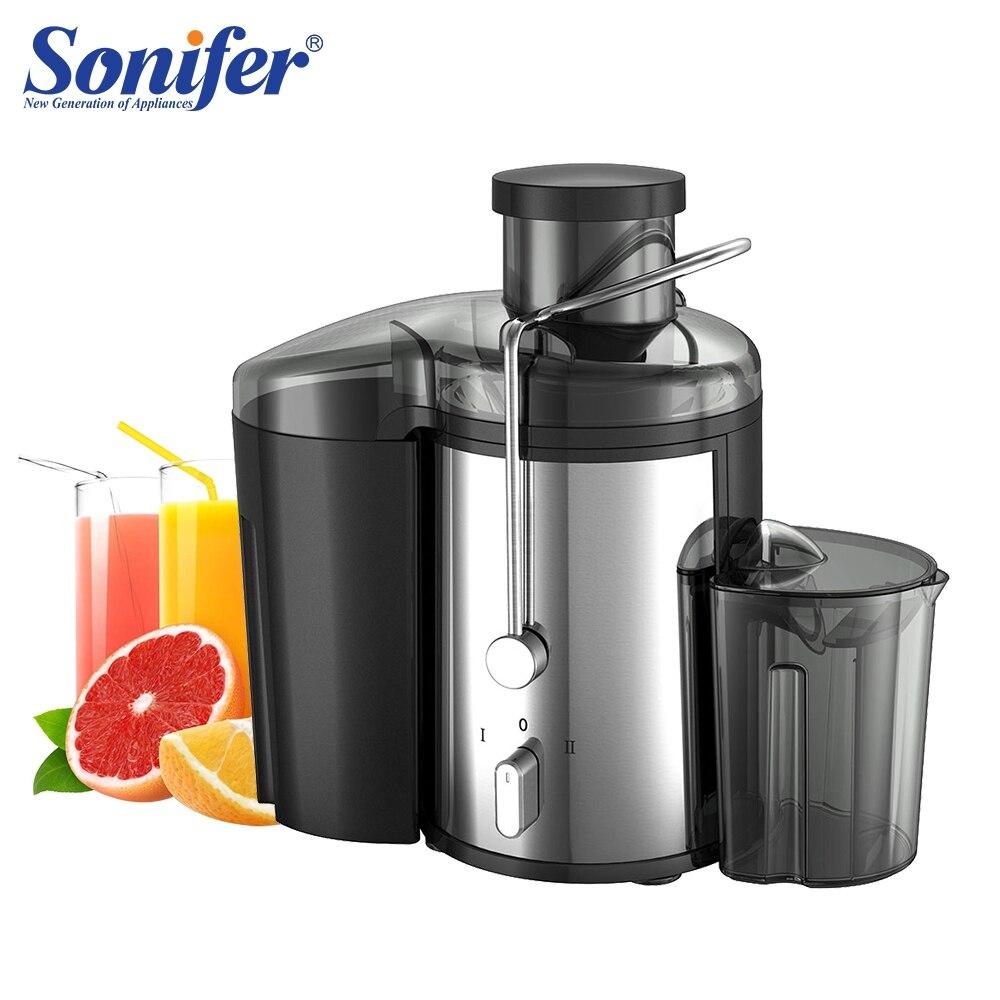 220 В нержавеющая сталь 2 Скорость соковыжималки Электрический экстрактор сока фрукты питьевой машины для дома Sonifer