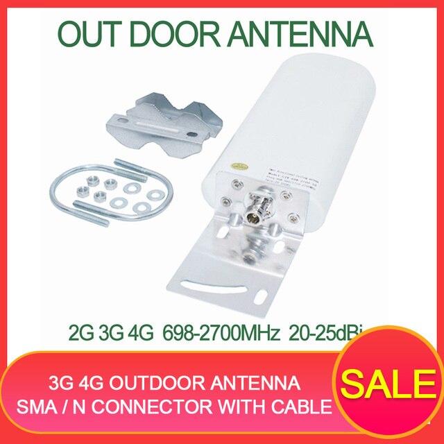 4G Anten 3G 4G ngoài trời antene 4G modem Ăng ten GSM antene 20 25dBi ăng ten gắn ngoài cho di động tăng cường tín hiệu Router Modem