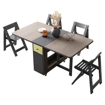 Masasi Pliante comedor Meja Makan Mesa comedor conjunto Tavolo Da Pranzo De  Marmol Plegable escritorio Mesa De Jantar Plegable Mesa De la cena